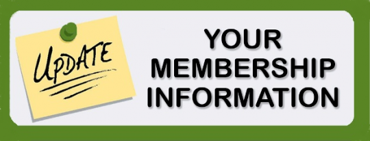 update your membership information online